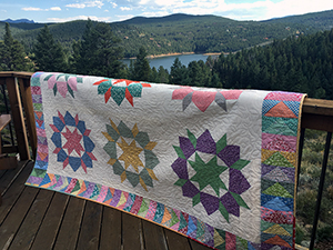 Modern Carpenter Star Quilt