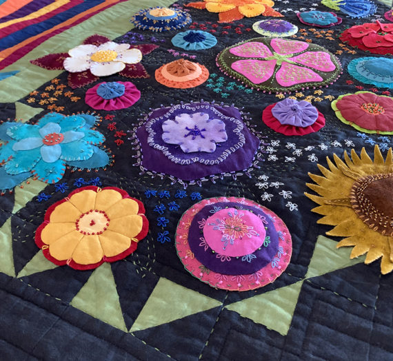 Flower Basket Quilts Inspired by Nature